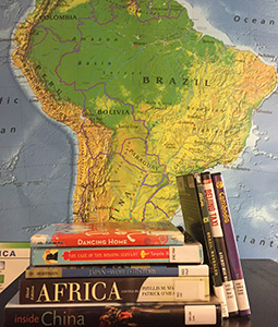 Books & Map